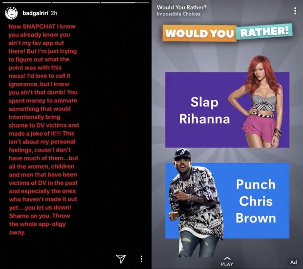 Point of views tyas handayani read article httptime5201774snapchat stock drops after rihanna statement stopboris Gallery